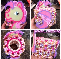 not crazy about the perler but omg the cuff <3 <3 <3