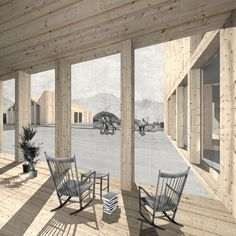 2012| Social medical residence in Leysin : TEd'A arquitectes