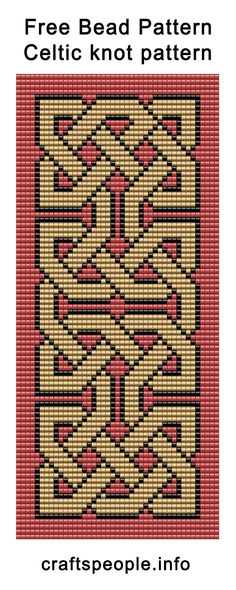 Bead Weaving Loom Patterns Free Free Bead Pattern Celtic