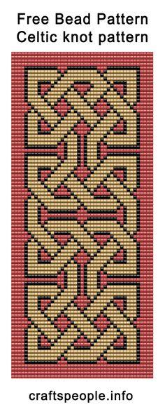 Bead Weaving Loom Patterns Free Free Bead Pattern Celtic