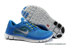 promo code efed4 aff8a Nike Free Run 3 Soar Pure Platinum Reflective Silver Womens 510642-401  Online Free Running