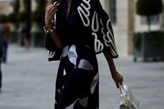 On the Streets of Paris Haute Couture Fall 2016 - -Wmag