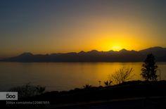 Sunset Dreams 5 by kerivista  Sunset antalya city cityscape evening keri kerivista landscape mediterranean mediterranean sea mount