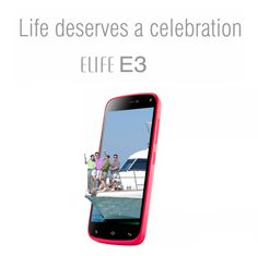 Celebrate life with brilliant Gionee Elife E3- http://gionee.co.in/?portfolio=e3-2