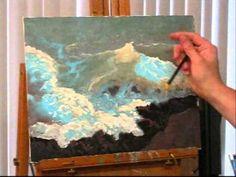 ▶ Paint the Crashing Sea 2 - YouTube