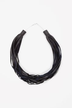 COS | Leather strand necklace