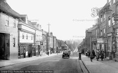 Photo of St Albans, Holywell Hill 1921 from Francis Frith St Albans, Old Photos, Past, Street View, London, City, Places, Pictures, Watford