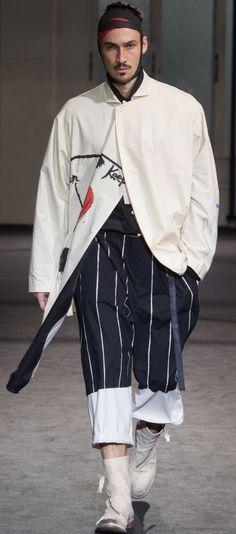 Yohji Yamamoto spring2017
