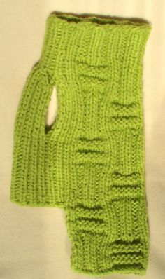 Dog Sweater Pet Clothing Hand Knit Dog Sweater Green by BubaDog
