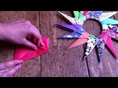 Check out this Great Crafty YouTube Channel and subscribe today.. but first, see how easy it is to make these wonderful Traditional Paper Stars for Christmas and the Holiday Season