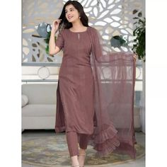 Dusty rose rayon thread and sequence work salwar suit Salwar Dress, Sharara Suit, Churidar Suits, Salwar Kameez, Patiala, Anarkali Suits, Eid Dresses, Party Wear Dresses, Embroidery Designs