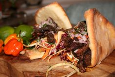 Cocoa chipotle cartel ox cheek tail voodoo slaw scotch bonnet salsa