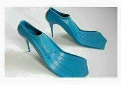 Lol..snorkel shoes!