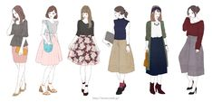 GALLERY | miya illustration web.