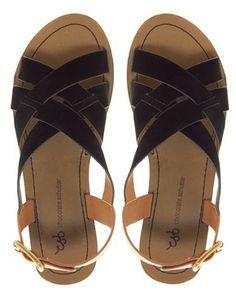 Bild 3 von Chocolate Schubar – Alima – Flache Sandale