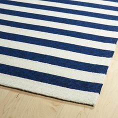 Vibrant Stripped Indoor-Outdoor Rug