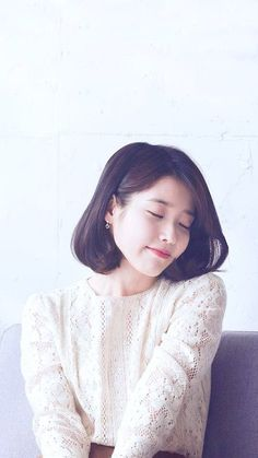 Iu Short Hair, Short Hair Styles, Kpop Girl Groups, Kpop Girls, Korean Celebrities, Celebs, Iu Fashion, Korean Actresses, Little Sisters