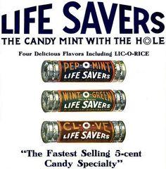 Life Savers circa 1917