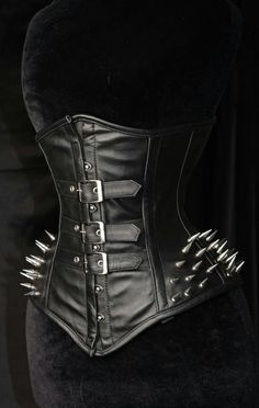 Dracula Clothing - Spike Buckle Corset