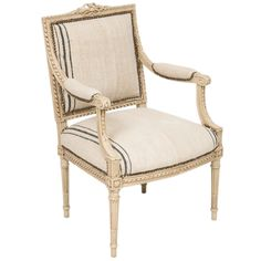 Grande Grenier Armchair at Found Vintage Rentals. This elegant armchair is…