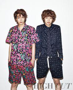 Kwangmin 광민 and Youngmin 영민 from Boyfriend 보이프렌드