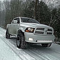 Go anywhere anytime  no matter the conditions. #GutsGloryRam ( credit: Connor M.)