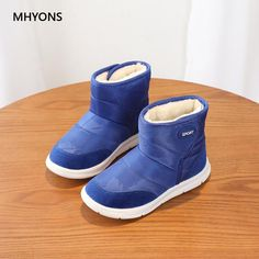 57ccda795eb5 MHYONS 2018 New Baby Girls Boots Winter Warm Thick Cotton Leather Baby  Botas Waterproof Infant Snow Boots Boys Bootie Kids Shoes Review