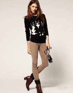 ASOS Dolly Cat Sweater