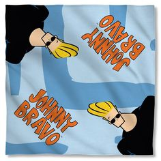 Johnny Bravo - Logo Bandana