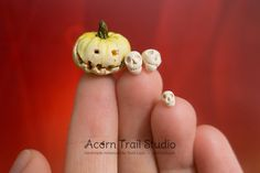 Your place to buy and sell all things handmade Spooky Halloween, Halloween Decorations, Spooky Treats, New Pins, Dollhouses, Acorn, Pumpkin Carving, Fun Things, More Fun