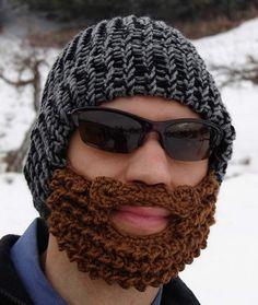 gorro con barba