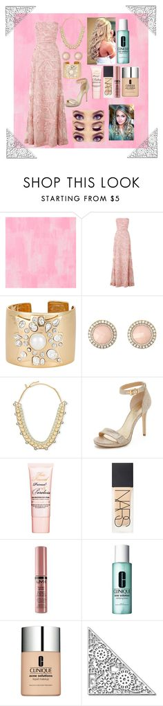 """""""Prom 2016"""" by malonebondy ❤ liked on Polyvore featuring Designers Guild, Elie Saab, Kenneth Jay Lane, Charlotte Russe, Kate Spade, MICHAEL Michael Kors, Too Faced Cosmetics, NARS Cosmetics, NYX and Clinique"""