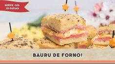 Bauru de Forno - Receitas de Minuto #170