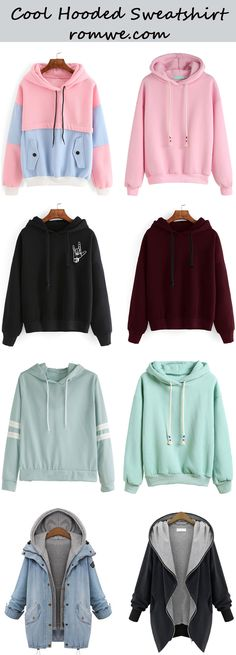 Cool Hooded Sweatshirts from romwe.com https://twitter.com/ShoesEgminfmn/status/895096209521557504