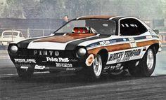 Mickey Thompson's Pinto Funny Car
