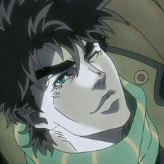 He a whole ass cutie Jojo's Bizarre Adventure, Jojo's Adventure, Bizarre Art, Jojo Bizarre, Fanarts Anime, Anime Characters, Jojo Part 2, Anime Guys, Me Me Me Anime