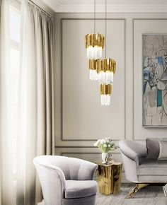 Like a precious treasure, this noble and elegant piece is a good decorative element with a discrete size of the Empire`s family, which gets even more beautiful when lights up. Inspired in the Empire State Building created with brass and crystal glass, finished with gold plated, ideal to use with more than one piece.