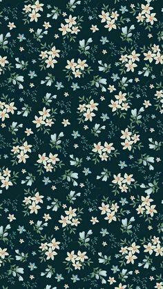 Flower Pink Green Wallpaper