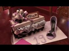 Shoe Box Cake and High Heel - 1st video