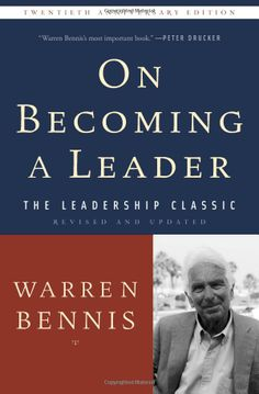 On Becoming a Leader: Warren Bennis: 9780465014088: Books - Amazon.ca