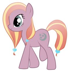 This is Stargazer, a Crystal Pony. She enjoys studying the stars to create zodiac predictions for the other ponies. Please adopt!