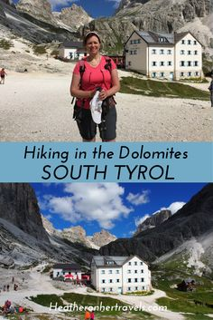 Read about hiking in the Dolomites of South Tyrol - on Day 2 we tackled a steep pass, walked through a lunar landscape and relaxed with a well earned beer as the mountains turned pink. South Tyrol, Bosnia And Herzegovina, Albania, Heritage Site, Italy Travel, Travel Inspiration, Traveling By Yourself, Cycling, Bucket
