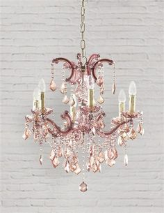 parisian petal pink chandelier glass casts a loveliness on life this