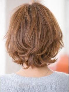 Thin Hair Haircuts, Short Hairstyles For Women, Bob Hairstyles, Short Hair With Layers, Layered Hair, Short Hair Cuts, Ash Blonde Hair, Wavy Hair, Medium Hair Styles