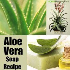 Great Recipe For Aloe Vera Soap
