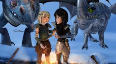 David Jones is responsible for much of the amazing design work and visual effects in Race to the Edge. From designing flames and explosions to creating new dragons, he has had a huge influence on the final product that we see on-screen. Httyd Dragons, Dreamworks Dragons, Disney And Dreamworks, Hicks Und Astrid, Happy Birthday Name, Hiccup And Astrid, Dragon Trainer, Edible Cake Toppers, Pokemon