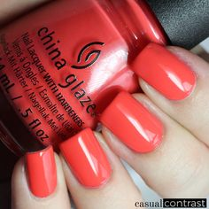 China Glaze Seas And Greetings Collection: Swatches & Review!