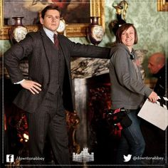 downton abbey behind the scenes with branson!!