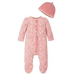 Mothercare Floral All In One and Hat