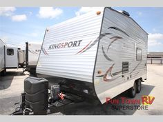 New 2015 Gulf Stream RV Kingsport 17RTH Toy Hauler Travel Trailer at Fun Town RV | Cleburne, TX | #133767
